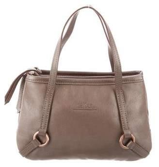 Longchamp Iridescent Leather Wristlet