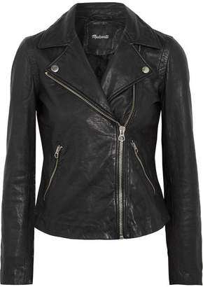 Madewell Washed-leather Biker Jacket