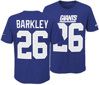 Nike Saquon Barkley New York Giants Pride Name and Number 3.0 T-Shirt, Big Boys (8-20)