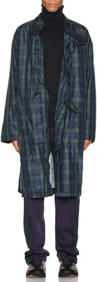 Engineered Garments MG Coat in Blackwatch | FWRD