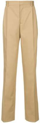Calvin Klein straight-leg tailored trousers
