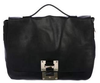 Sophie Hulme Smooth Leather Satchel