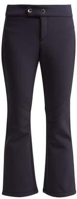 Bogner Emilia Kick Flare Stretch Jersey Ski Pants - Womens - Navy