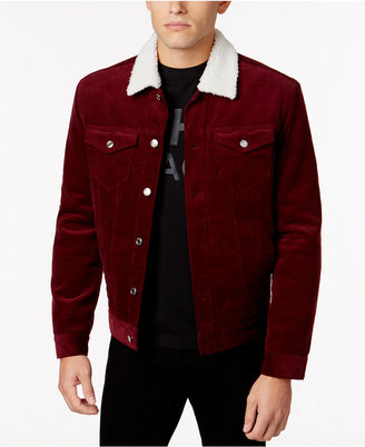 WHT SPACE by Shaun White Men's Corduroy Jacket with Fleece Trim $98 thestylecure.com