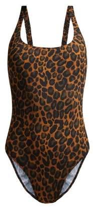 Fisch - Oubli Leopard Print Swimsuit - Womens - Leopard