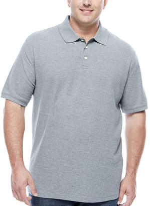 Co THE FOUNDRY SUPPLY The Foundry Big & Tall Supply Quick Dry Short Sleeve Knit Polo Shirt Big and Tall