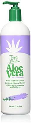 Triple Lanolin Aloe Vera Lotion with Lavender