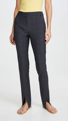 Tibi Slim Pants with Front Slit Detail