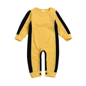 Lee Doublelift Toddler Infant Baby Boy Girls Bruce Jumpsuit Long Sleeve Bodysuit Outfit