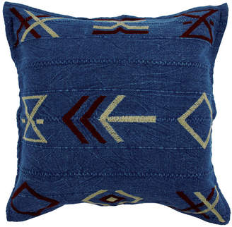 Pony Rider Hieroglyphic Embroidered Cushion Cover