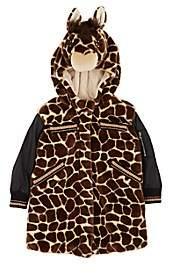 Dolce & Gabbana Kids' Giraffe Faux-Fur Coat - Brown
