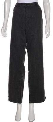 Michael Kors High-Rise Wide-Leg Jeans