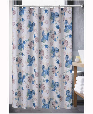 Popular Bath Color Shell Shower Curtain Bedding