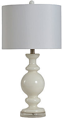 JCPenney Milk Glass Table Lamp