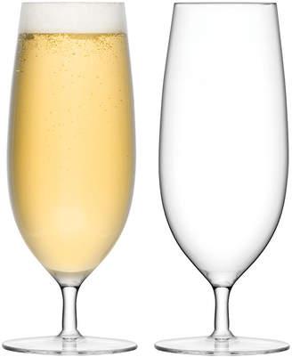 LSA International Bar Pilsner Glass - Set of 2