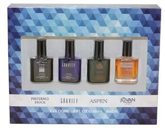 Coty Omni Collection 4-Piece Gift Set for Men