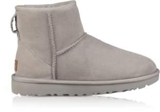 UGG Seal Gray Classic Mini II Boots
