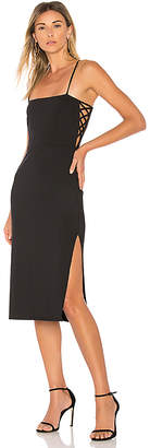 Donna Mizani Daphne Midi Dress