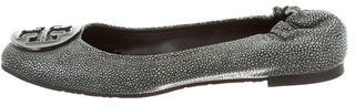 Tory Burch Tory Burch Embossed Reva Flats