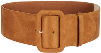 INC International Concepts I.n.c. Faux-Suede Stretch Belt