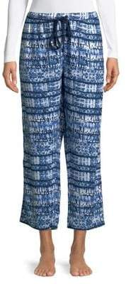 Splendid Cropped Tie-Dye Pajama Pants