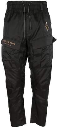 Marcelo Burlon County of Milan Fire Cross Track Pants
