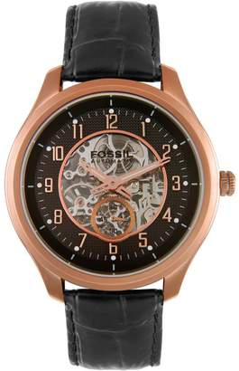 Fossil Men's ME3006 Stainless Steel Skeleton Dial Automatic Watch