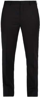 Lanvin Slim-leg wool-blend trousers