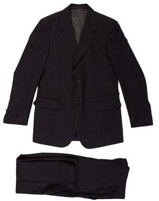 Marni Houndstooth Wool-Blend Suit