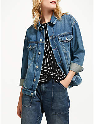 AND/OR Denim Jacket, Deja Blue