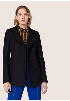 Derek Lam Peacoat With Embroidery Detail