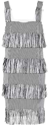 Prism Nevis fringed cotton dress