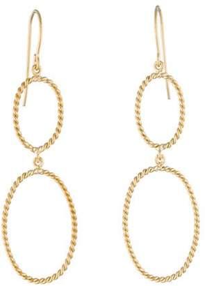 Twist Drop Earrings