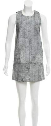3.1 Phillip Lim Sleeveless Leather Dress