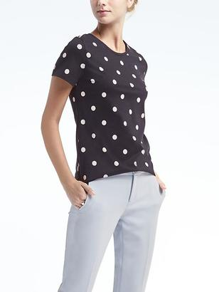 Dot Signature Supima® Cotton Crew $36.50 thestylecure.com
