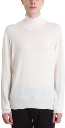 Maison Margiela White Wool Sweater