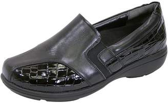 dce13fcbacb at Amazon Canada · 24 Hour Comfort FIC Peerage Agatha Women Extra Wide Width  Dress Loafer 10.5