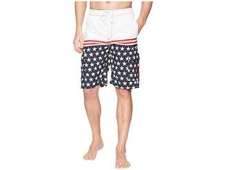 U.S. Polo Assn. 11 Patriot Cargo Swim Shorts Men's Swimwear