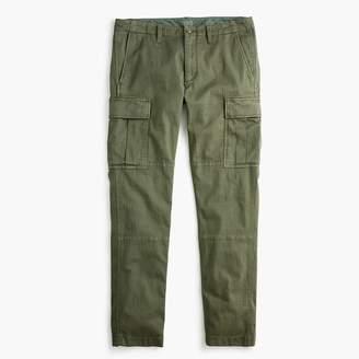 J.Crew 484 Slim-fit stretch cargo pant in garment-dyed herringbone
