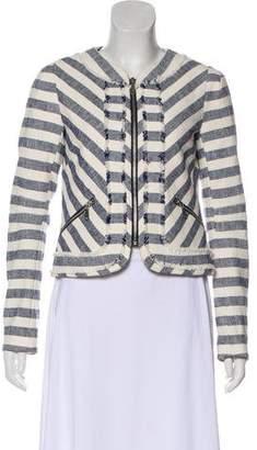 Rebecca Minkoff Striped Long Sleeve Blazer