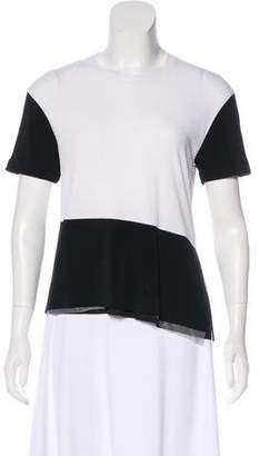 Neil Barrett Short Sleeve Crew Neck Top