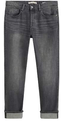 Mango Man MANGO MAN Regular-fit grey wash Steve jeans