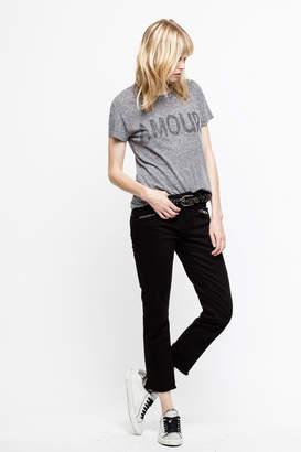 Zadig & Voltaire Walk Strass Spu T-Shirt