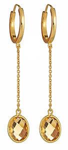 Tresor Citrine Earrings