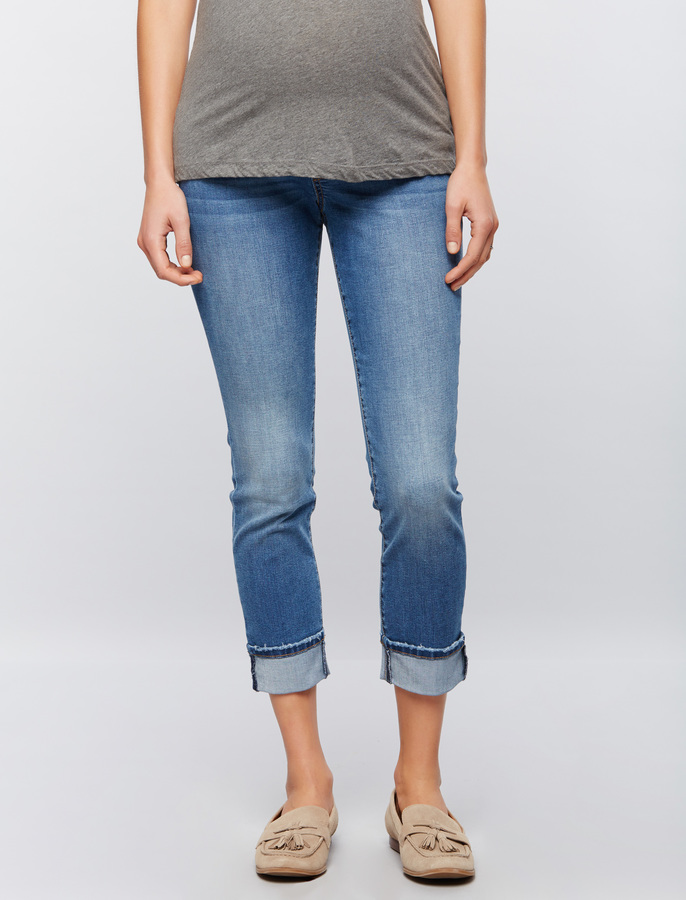 A Pea In The PodLuxe Essentials Denim Secret Fit Belly Kate Maternity Jeans