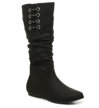 White Mountain Cliffs By Fiona Wide Calf Boot