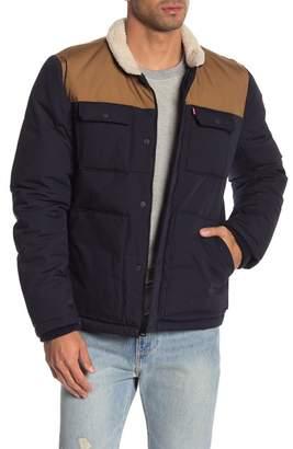 Levi's Faux Shearling Woodsman Jacket