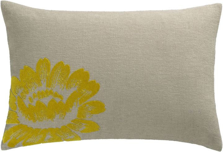 Sunflower Flock Pillow
