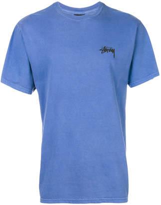 Stussy contrast logo T-shirt