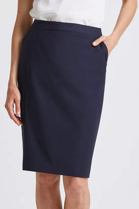 SABA Celeste Wool Suit Skirt